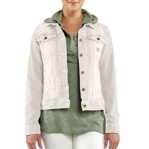 Carhartt White Tucker Jacket